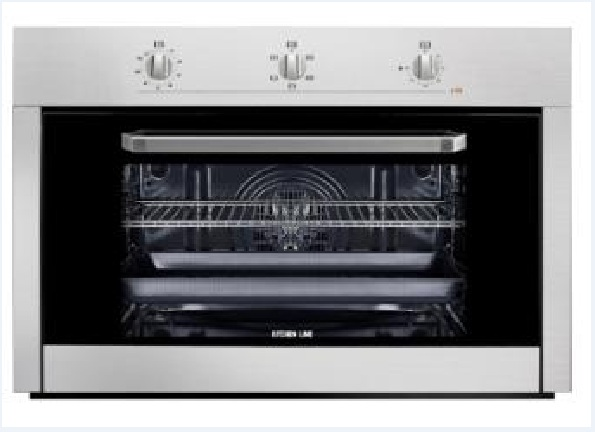 electric oven 90 cm 5 positions